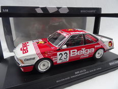 Minichamps - Scale 1/18 - BMW 635 CSi #23 Belga Juma Racing - 24H Spa 1985 - Drivers: Winkelhock / Regout / Gartnier