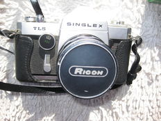 Singlex, TLS, 55 and 135 mm lens  + Ricoh RZ-1000 + 2 electron flashes