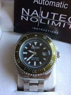 Nautec No Limit Men's Deep Sea Bravo Watch DSB AT/STSTGRBK