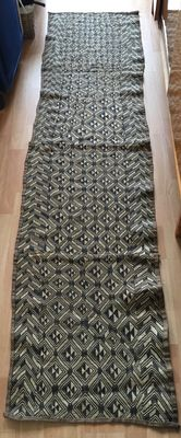Beautiful and large traditional textile - KUBA - D.R of Congo