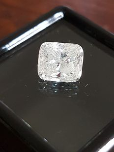 Diamond - 2.08 ct - Cushion - G Color SI2 - VG/VG Including Certificate