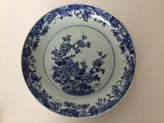 Large porcelain plate - China - 18th century