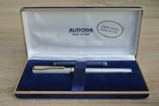 Aurora sterling silver and 14KT foutain pen