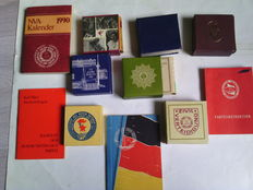 DDR, GDR, - Lot of small books, police, army, Karl Marx...
