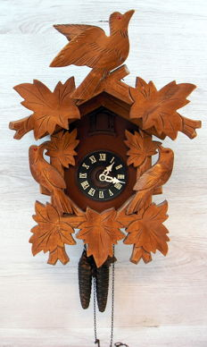 Cuckoo clock - West Germany, 1973