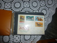 GDR of East Germany and Federal Republic of Germany - various attraction envelopes - 147