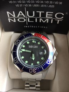 Nautec No Limit Men's Deep Sea Bravo Watch