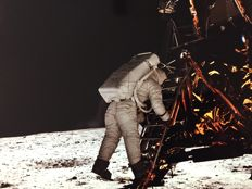 Neil Armstrong/Nasa - Apollo 11 - Buzz Aldrin - EVA view - 1969