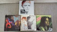 David Bowie - Lot of 1 Box and 3 LP