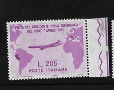 Italian Republic, 1961, Grochi Rosa, with edge of sheet, complete series