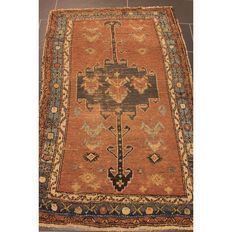 Persian carpet, Malayer, 170 x 110 cm, made in Iran, circa 1900, natural dyes, rug, wool on wool, collector's piece