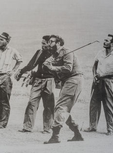 Alberto Korda (1928-2001) - Fidel Castro playing golf - Havana - Cuba - 1961
