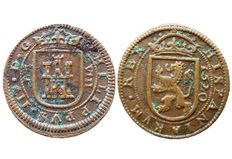 Spain – Philip III, 8 Maravedis from Segovia, 1620 – 28 mm – 5.9 g