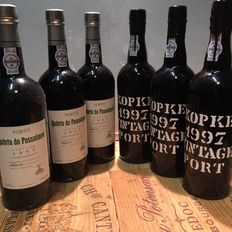 1997 Vintage Port - 3x Quinta do Passadouro & 3x Kopke -  6 bottles