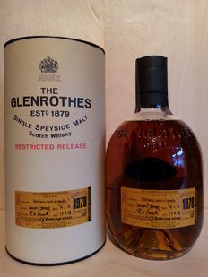 Glenrothes 1978 -  21 years old -  Restricted Release