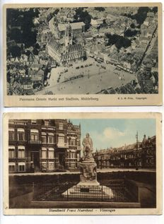 The Dutch province of Zeeland, period 1900-1960, city and village views, 101x