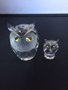 Swarovski - Owl large - Owl mini