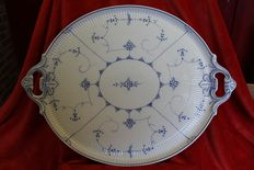 Villeroy & Boch Dresden - Very large oval meat plate (decor Copenhague)