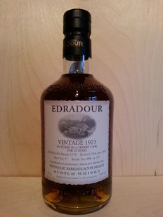 Edradour Vintage 1973 - 30 Years old - Limited Edition