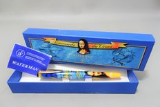 Waterman fountain pen reflex Leonardo Da Vinci in original Box and Warranty - Never has been inked.