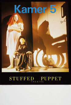 Erwin Olaf - 3 Posters of Stuffed Puppet Theatre -  1985/1988