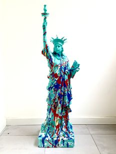 Rick Triest - secret moneybox - Lady Liberty