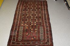 Stunning Oriental carpet Baluch – First half of the previous century – approx. 143 x 80 cm – No reserve, bidding starts at €1