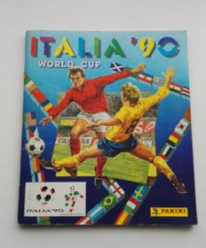 Panini - Italia World Cup 90 - Complete album.