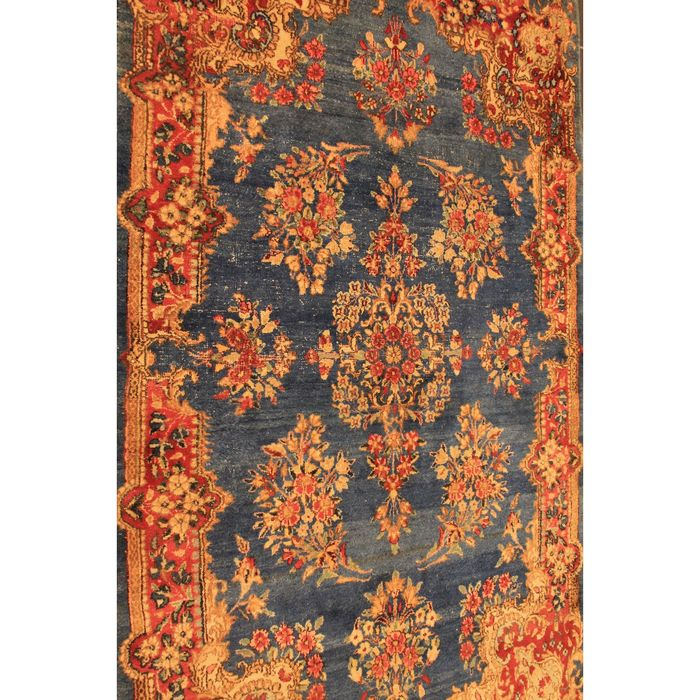 Old Hand-knotted Persian Palace Rug