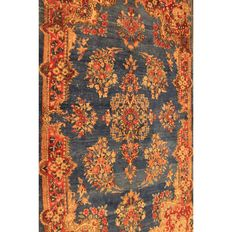 Old hand-knotted Persian palace rug – Old floral – Lawer Kirman Kerman oriental rug – 165 x 100 cm