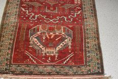 Stunning Oriental carpet Baluch – First half of the previous century – approx. 140 x 85 cm – No reserve, bidding starts at €1