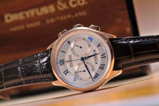 Dreyfuss & Co – Chronograph- ref.: DGS000096 – men's watch - Rose gold-plated case - Never worn - As new condition - 729-2017