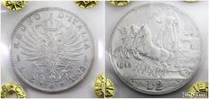 Kingdom of Italy – 2 Lire, 1905 and 1912 – Victor Emmanuel III (2 coins) – silver
