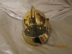 Superb firefighter's helmet 1895 NCO