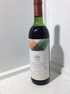 1979 Chateau Mouton Rothschild, Pauillac 1er Grand Cru Classé - 1 bottle (75cl)