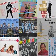 British Rock & Roll albums on Philips, Ace, See for Miles, Magnet etc.