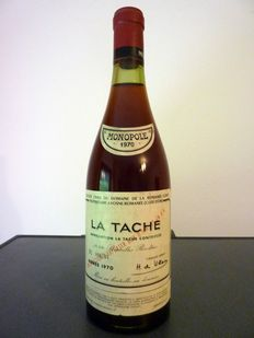 1970 La Tache grand Cru - Domaine de la  Romanee Conti x 1 bottle