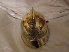 Superb firefighter's helmet 1895