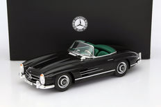GT-Spirit - Scale 1/12 - Mercedes-Benz 300 SL Roadster 1957-1963 - Black