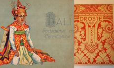 Lot of 5 books on Bali (including an edition with photos from  Walter Spies from around 1930).