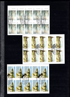 Federal Republic of Germany 2012/2013 - Stamp booklets and sheetlets in stock book