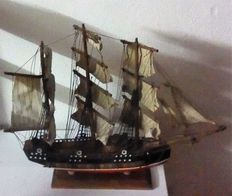 Model sailing ship BADR Siglo XVIII