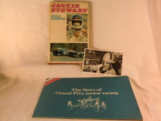 Formule 1 - UK - Kavel met Gesigneerde Foto Jack Brabham & The Story of  Grand Prix Motor Racing & Jackie Stewart World Champion