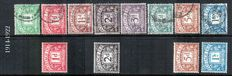 Great Britain 1914/1951 -Postage due stamps small collection.