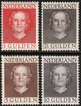 """Check out our The Netherlands 1949 – Queen Juliana """"Face forward"""" – NVPH 534/537"""