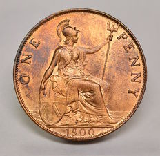 United Kingdom - Penny 1900 Victoria