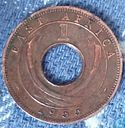 Oost-Afrika 1 cent 1955