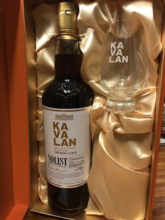 Kavalan Solist Brandy Cask with Glass Gift Set Limited Edition