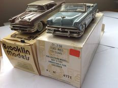 Collector's Classics - Scale 1/43 - Ford Sunliner 1953 and Ford Fairlane 1956