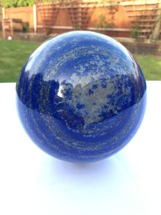 Hand-polished Lapis Lazuli - 120mm - 3500gm